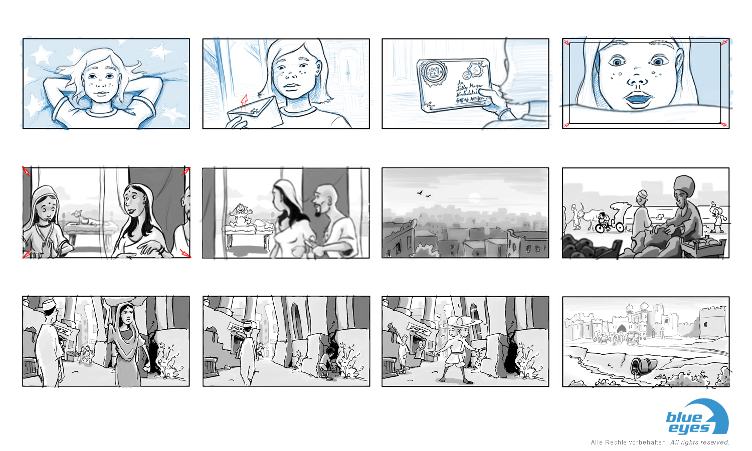 live action storyboard Kinderfilm (Feature)