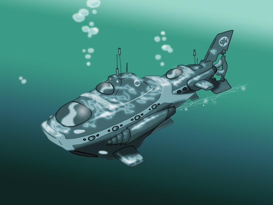 Prop Design of a Submarine