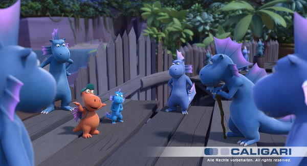 Storyboard Supervision for Dragon Coconut 2 animated feature movie