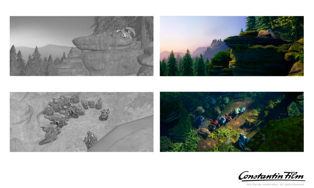 Animationboard Dragon Rider